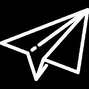 icône avion origami